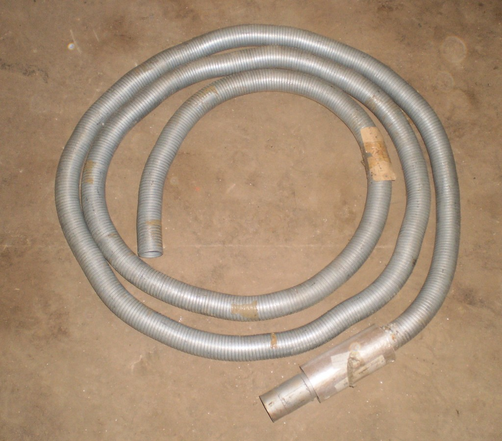 Land Rover Military Generator Plant Workshop Metal Exhaust Flexi Tube  Extension