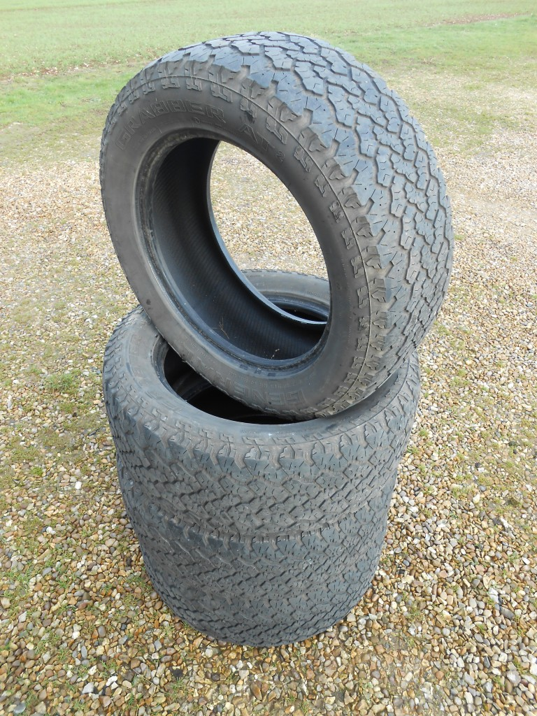 land rover discovery freelander 2 general grabber at2 tyres x 4