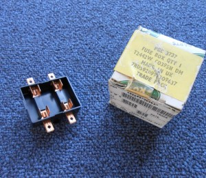 land rover defender 90 110 air conditioning fuse box holder prc3737 new h and h surplus